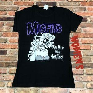 Misfits WOMENS Band T-shirt